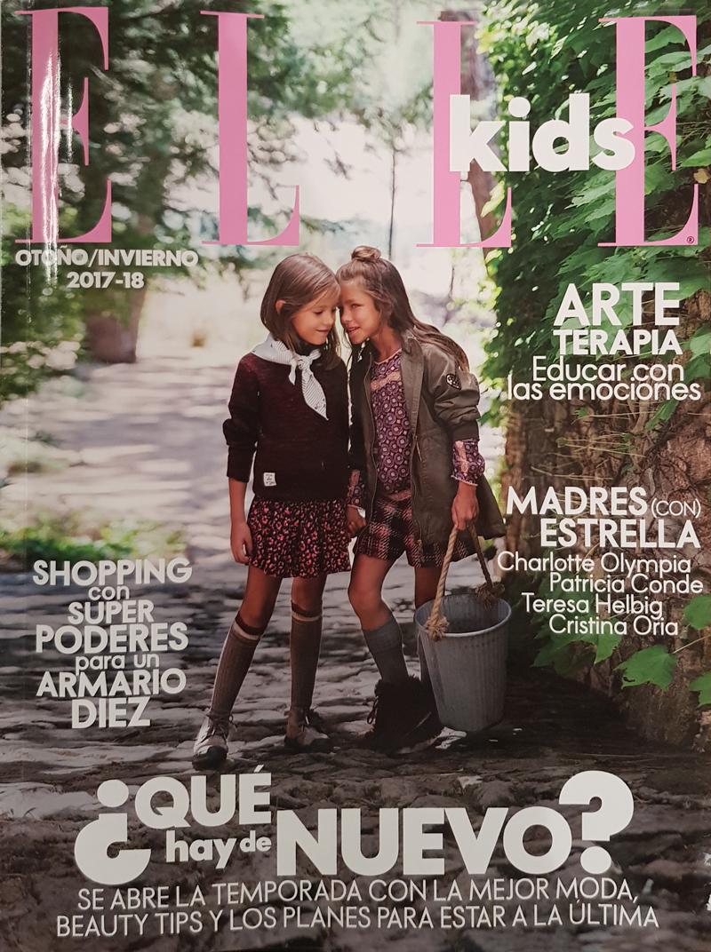Portada Elle Kids Otoño/Invierno 2017-18