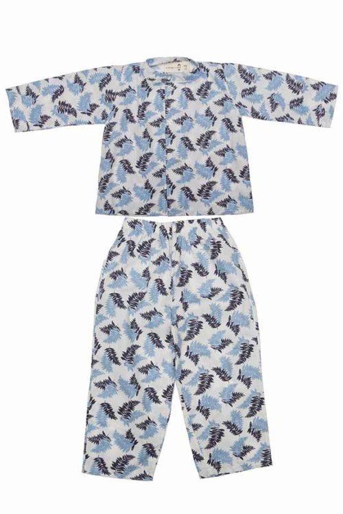 pijama hojas verano 18