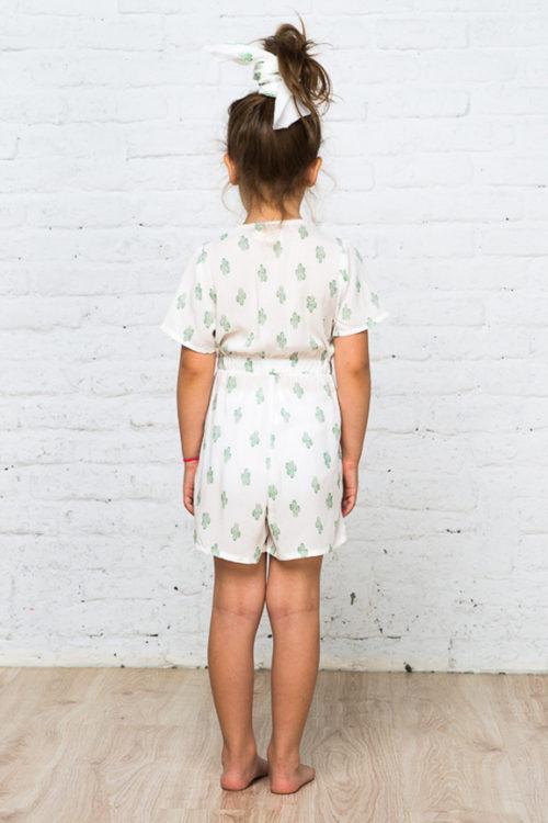 Cactus pattern jumpsuit 3