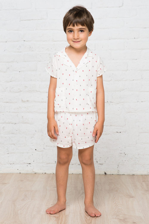 Anchors pattern for boys