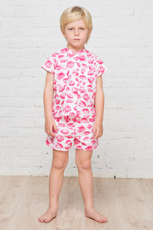 Fish pattern for boys 1