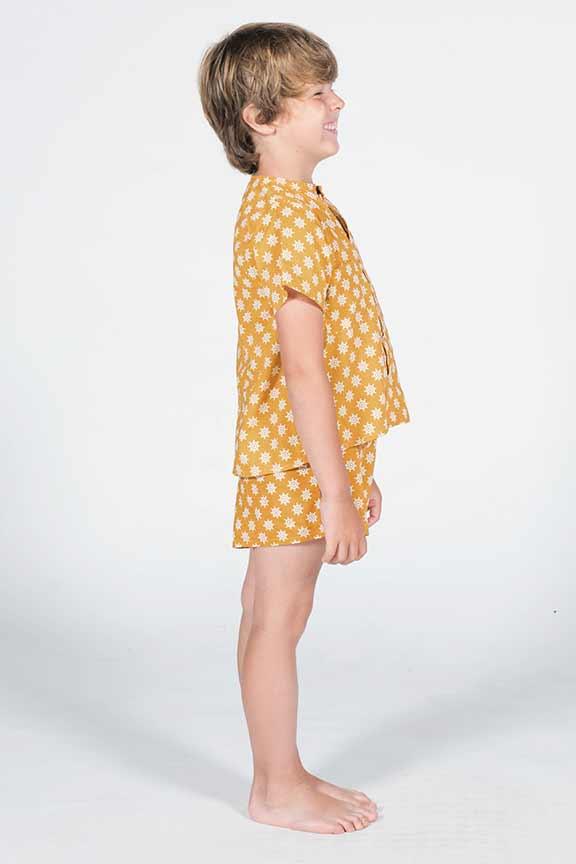 pijama timones perfil