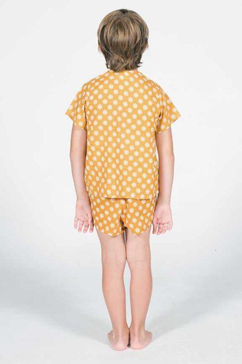 pijama timones trasera