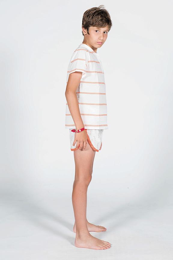 Pijama de caballitos de Mar perfil