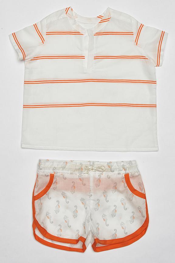 Pijama de caballitos de Mar