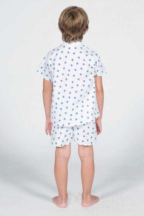 pijama palmertitas unisex trasera